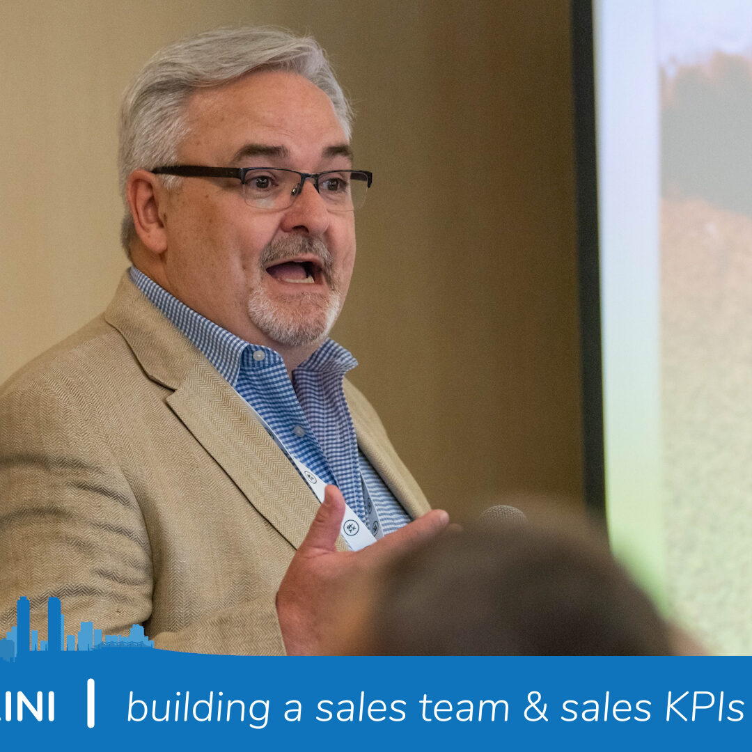 Mike Giamprini building a sales team and sales KPIs